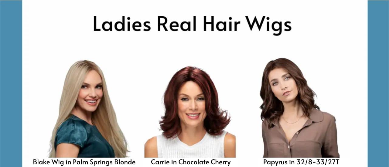 Ladies Real Hair Wigs | HairWeavon Wig Online Shop