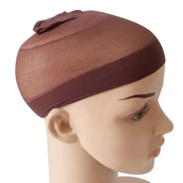 wig cap brown