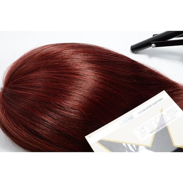 Spotlight Red Wig Colour by Gisela Mayer