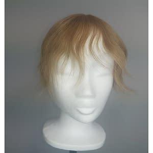 Iris Hair Topper | Remy Human Hair (Mono Top) | Colour As Shown Sandy Blonde