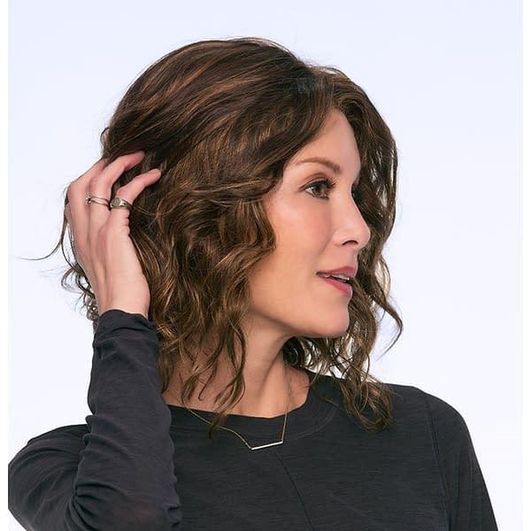 Julianne Lite Wig by Jon Renau   Mid Length Synthetic Hair