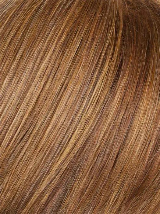 Medium Red Gabor Wig Colour