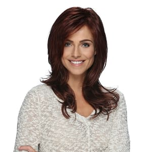 Mackenzie Wig | Synthetic Lace Front (Hand Tied) | 25 Colours