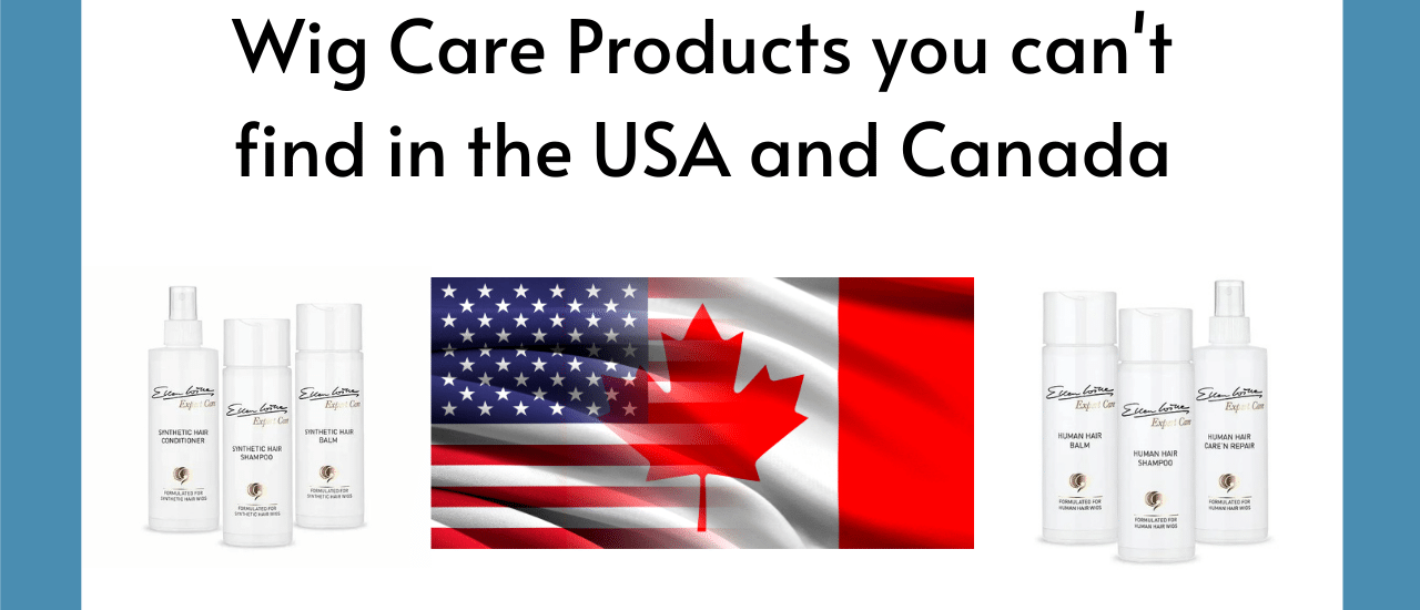 Wig Care Products USA Canada - HairWeavon