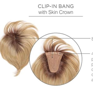 No Doubt Hair Topper | Heat Friendly Clip In Bang