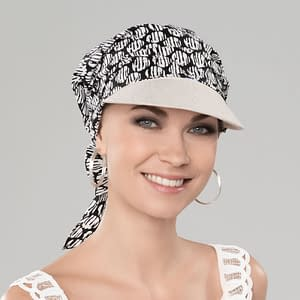 Lonata Headwear In Black / White