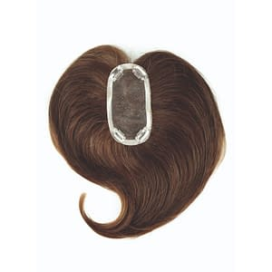 Light Cover Piece (Mono)   Synthetic Hair Topper   24 Colours