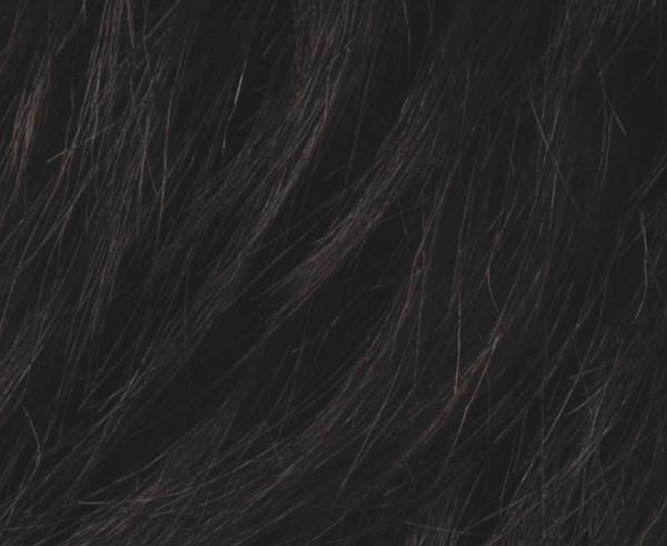 Ebony Black wig colour