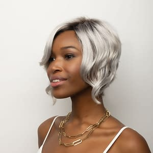 Hallie Wig | Synthetic Lace Front | 13 Colours