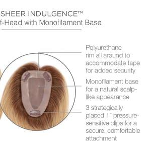 Charmed Hair Topper | Hair Piece By Raquel Welch