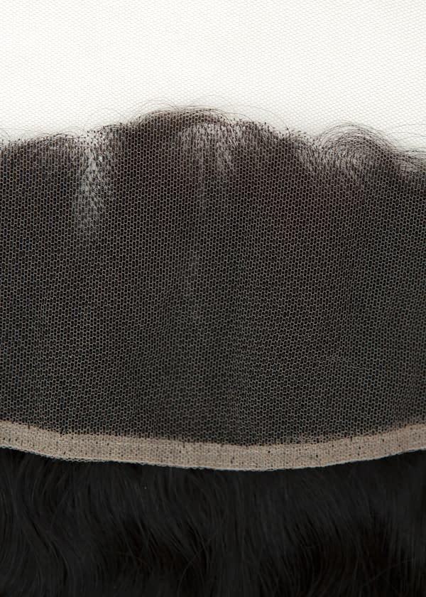 Frontal weavon piece