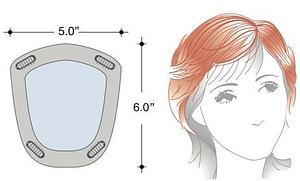Modern TP Hair Topper Base Design