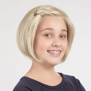 Emma Wig For Kids | Petite | Synthetic Lace Front Wig (Hand Tied) | 6 Colours
