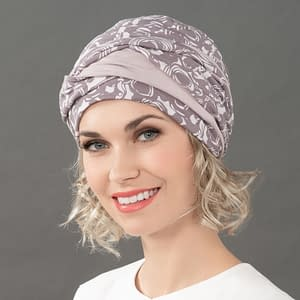 Ama Headwear by Ellen Wille. Hats and Scarves suitable for hairloss