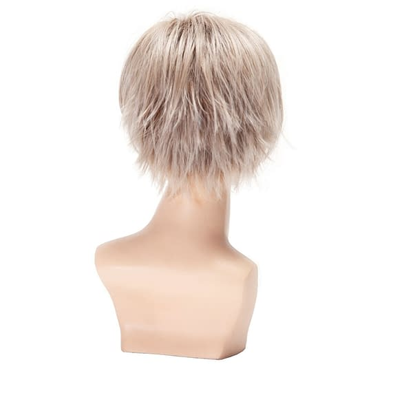 Clover Wig by Belle Tress   Heat Friendly Synthetic   Short Stacked Pixie