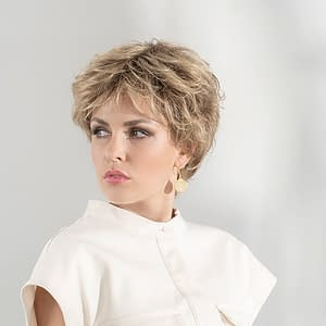 Charme Wig By Ellen Wille | Short Synthetic Lace Front Wig With Fringe