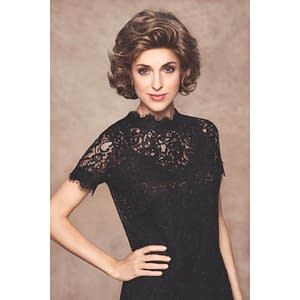 Lady Mono Lace Deluxe Volume Wig | Synthetic Lace Front (Mono Top) | 11 Colours
