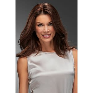 Top Form French 18″ Topper | Remy Human Hair (Mono Base) | 26 Colours