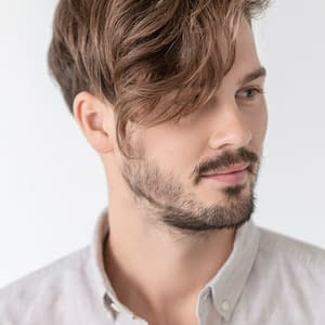 Dave Wig For Men By Ellen Wille | Heat Friendly Synthetic Hair