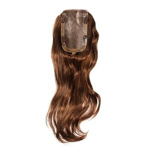 Paris Large Hair Piece | Human Hair Topper | 19 Colours