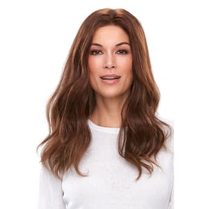 Top Smart 18″ Topper | Remy Human Hair Lace Front (Mono Base) | 32 Colours
