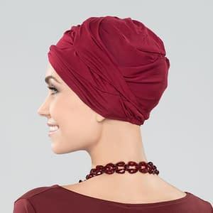 Magena Headwear By Ellen Wille In BURGUNDY