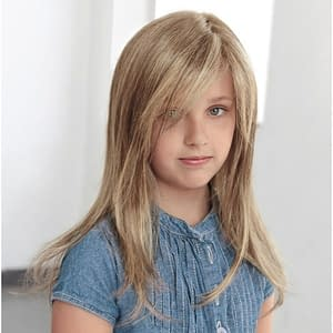 Anne Nature Wig For Girls | Human Hair Lace Front Wig (Mono Top & Hand Tied) | 7 Colours