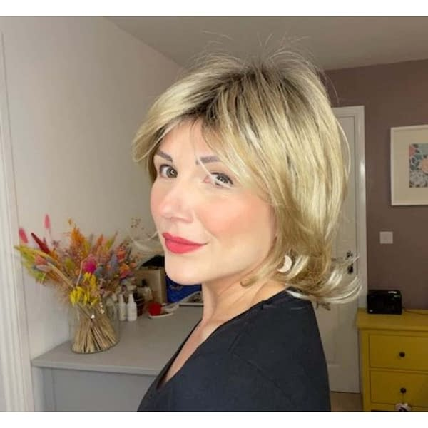 Planet Hi Wig by Ellen Wille   Mid Length Synthetic Wig