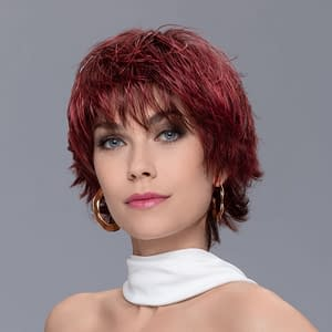 Spark Wig In WILD CHERRY ROOTED By Ellen Wille