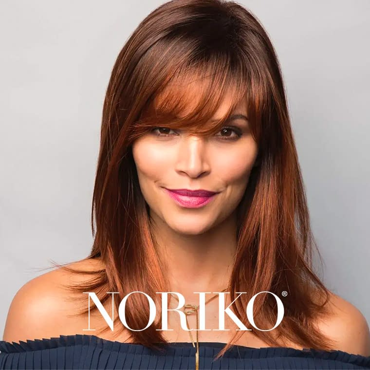 Noriko Wig Brand By RENE OF PARIS   Synthetic Wigs   Large Sizes