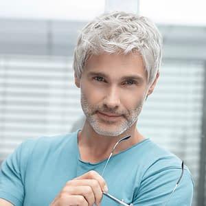 George 5 Star Wig For Men By Ellen Wille