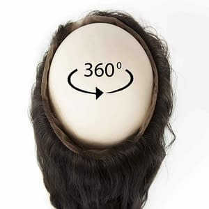 360 Frontal | Wavy Human Hair | 16 Inches | Colour 3