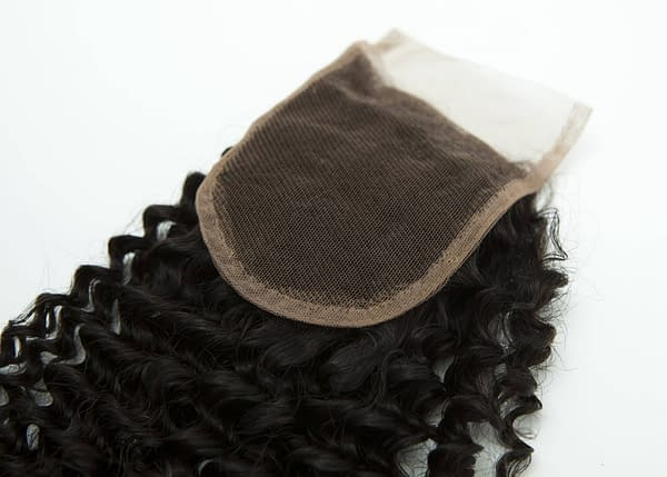 Lace hair extensions pieces