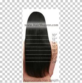 Hair length guide