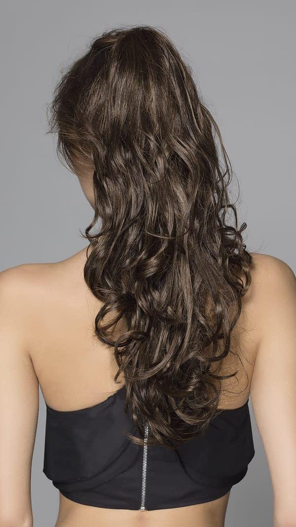 Mojito ponytail hair piece By Ellen Wille
