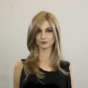 Glamour Mono Wig | Synthetic Lace Front Wig (Mono Part) | 8 Colours