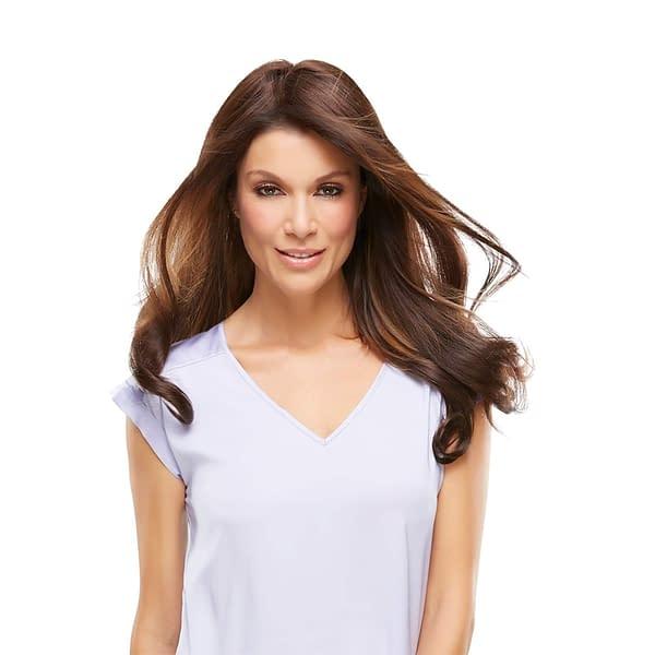 easiPart XL 18inch Human Hair Topper