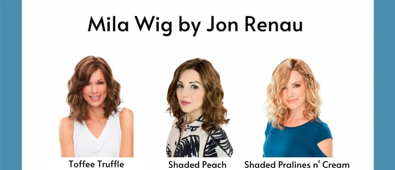 Mila Wig By Jon Renau