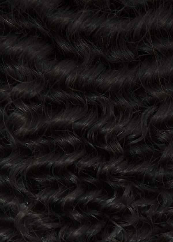 Curly closure piece
