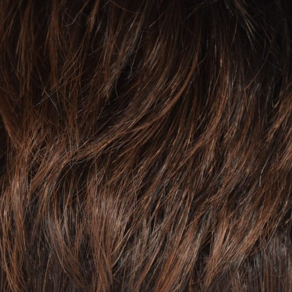 Ginger Brown Human Hair Colour by Wig Pro