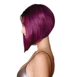 Midnight Berry Wig By HairDo   Asymmetric Bob Style