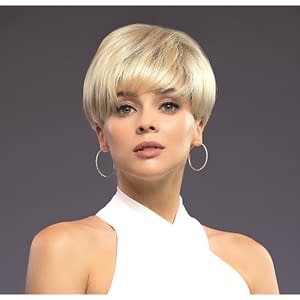 Modern Top Piece by Rene of Paris | Short Synthetic Hair Topper