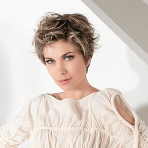 Posh Wig By Ellen Wille | Short Feathered Synthetic Lace Front