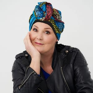 Indian Summer Turban With Black Cap | Headwear By Ayelet