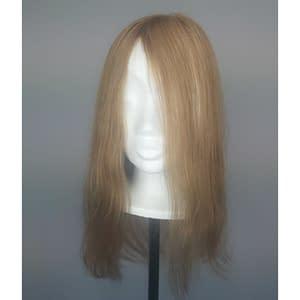 Ava Hair Topper | Remy Human Hair (Mono Top) | Colour As Shown Sand Mix