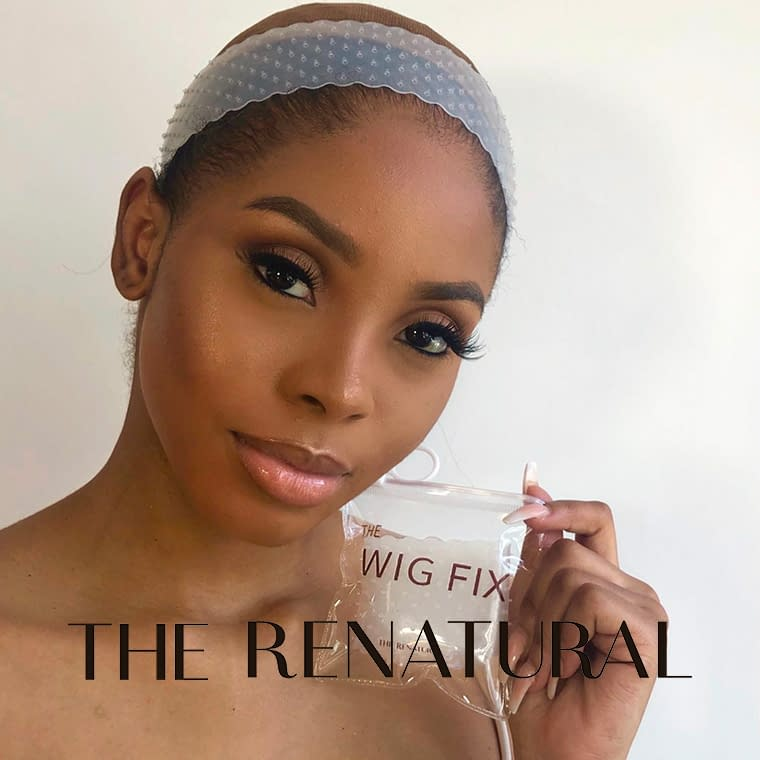 THE RENATURAL Wig Fix To Secure Wigs