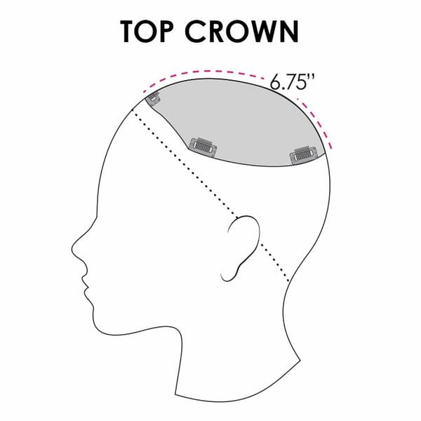 Top Crown Piece coverage