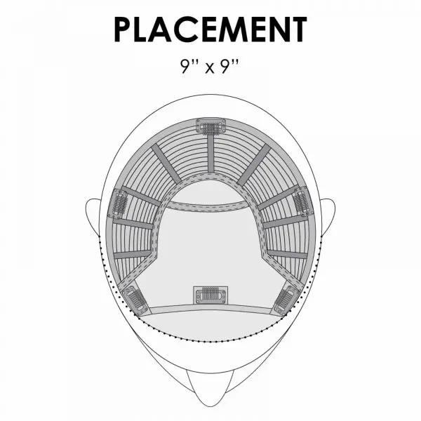 Top Smart Topper Hair Piece | Placement by Jon Renau Easihair