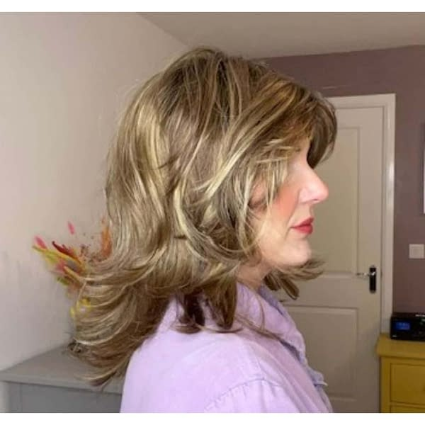 Alive Wig by Ellen Wille | Mid Length Synthetic Wig