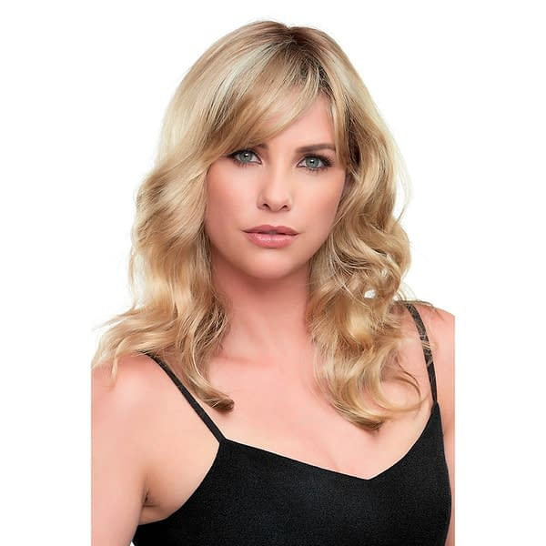 Alexis Wig in 12FS8 | Shaded Praline with Monofilament Top